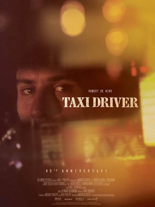Taxi Driver, Affiche version restaurée