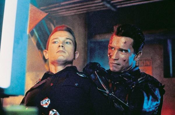 Robert Patrick, Arnold Schwarzenegger