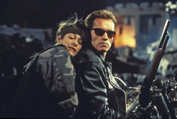 Edward Furlong, Arnold Schwarzenegger
