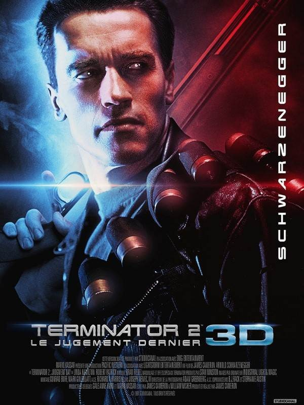 Terminator 2 : le jugement dernier, Affiche version restaurée