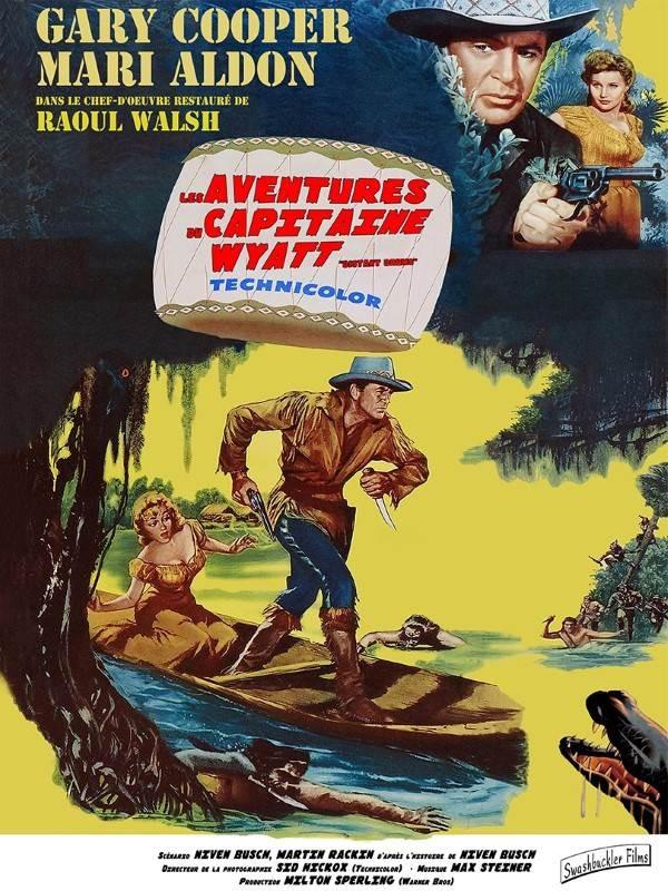 Les aventures du capitaine Wyatt, Affiche version restaurée