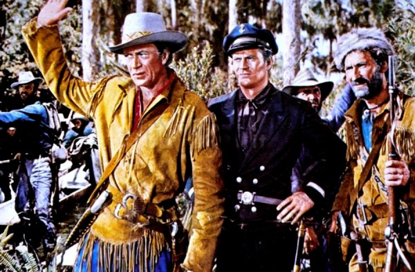 Gary Cooper, Richard Webbs, Arthur Hunnicutt