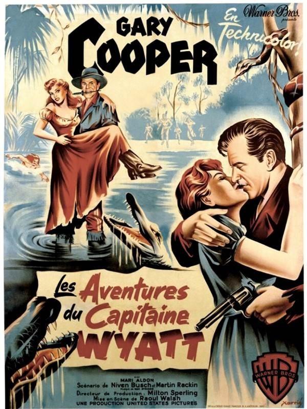Les aventures du capitaine Wyatt, Affiche