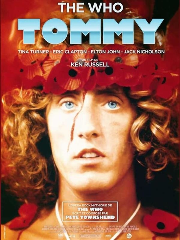 Tommy, affiche version restaurée