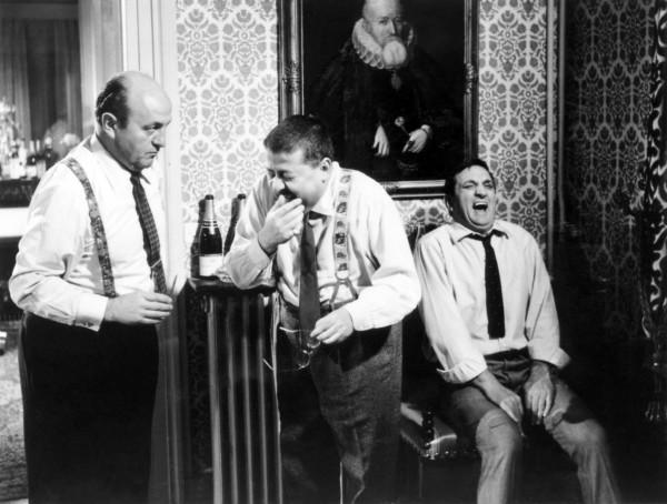 Bernard Blier, Francis Blanche, Lino Ventura