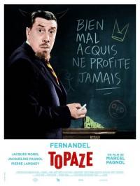 Topaze, Affiche version restaurée