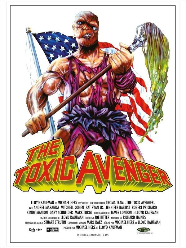 Toxic Avenger, affiche version restaurée