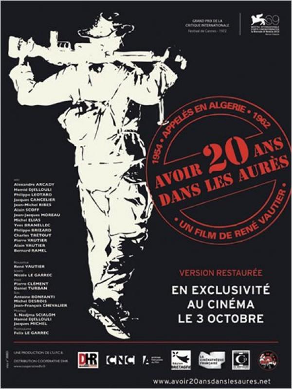 Avoir 20 ans dans les Aurès : Affiche