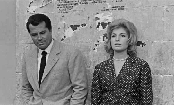 Gabriele Ferzetti (Sandro), Monica Vitti (Claudia)