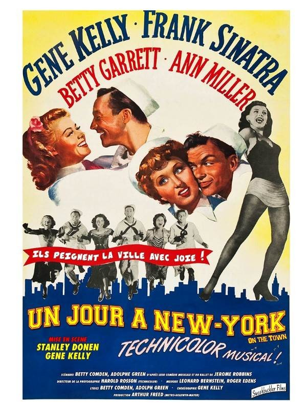 Un jour à New York, Affiche