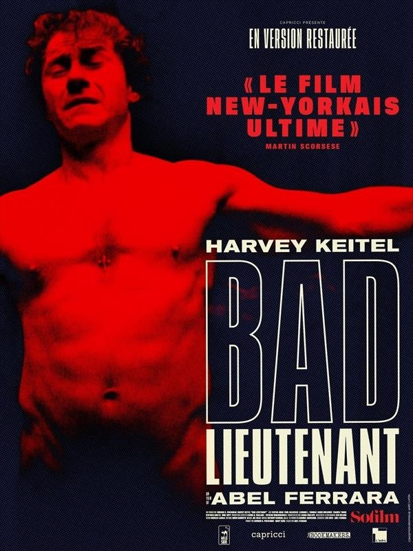 Bad Lieutenant, Affiche version restaurée