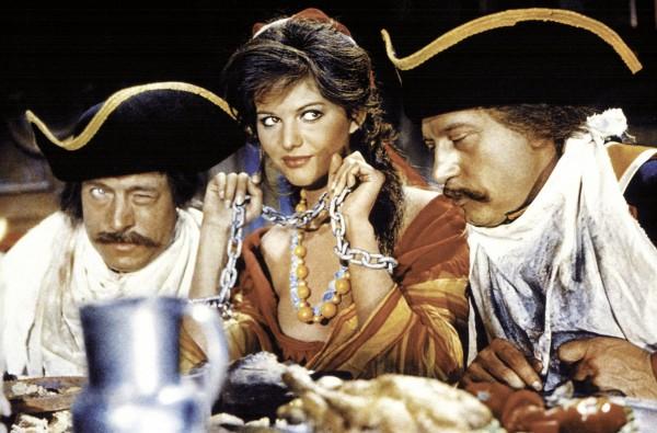 Claudia Cardinale et personnages