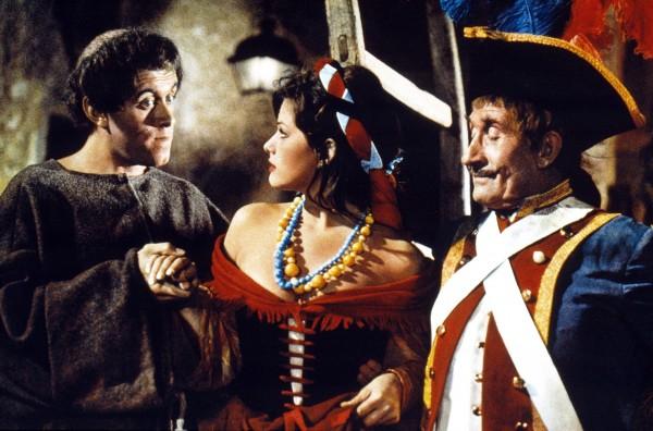 Jacques Balutin, Claudia Cardinale, Noël Roquevert