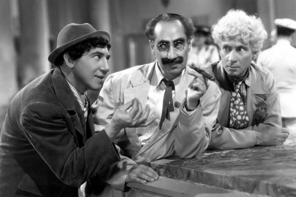 Chico Marx, Groucho Marx, Harpo Marx
