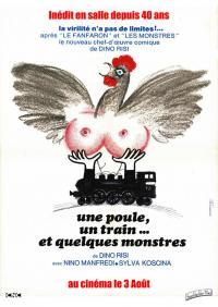 Une poule, un train... et quelques monstres