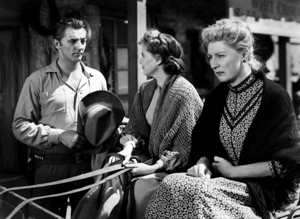 Robert Mitchum, Teresa Wright, Judith Anderson