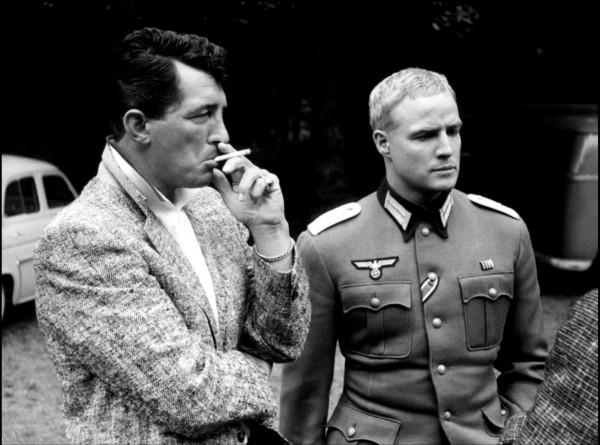 Dean Martin, Marlon Brando