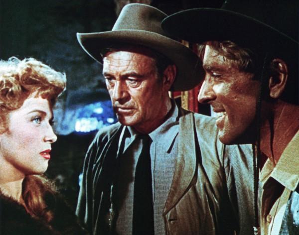Denise Darcel, Gary Cooper, Burt Lancaster
