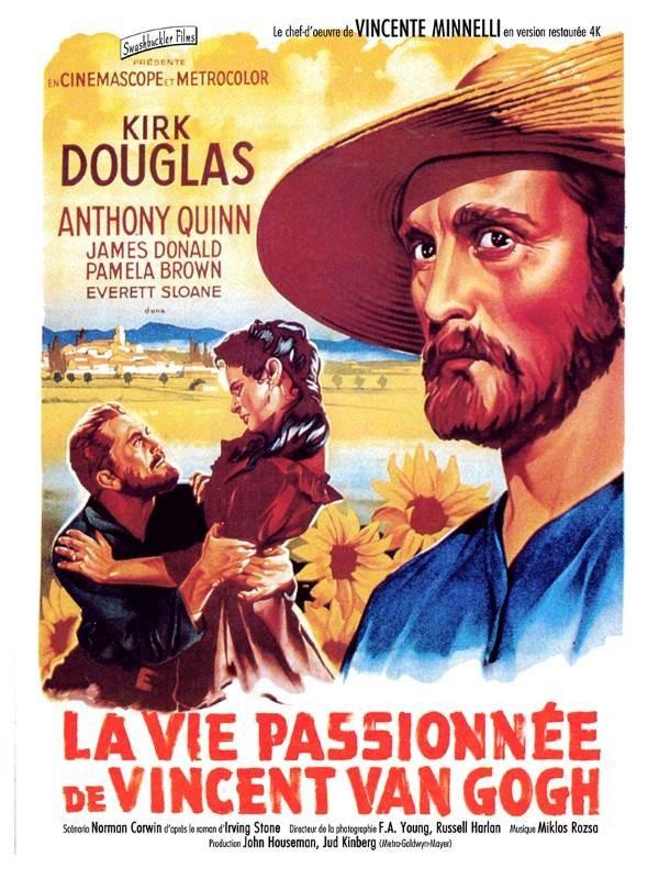 La vie passionnée de Vincent Van Gogh, Affiche