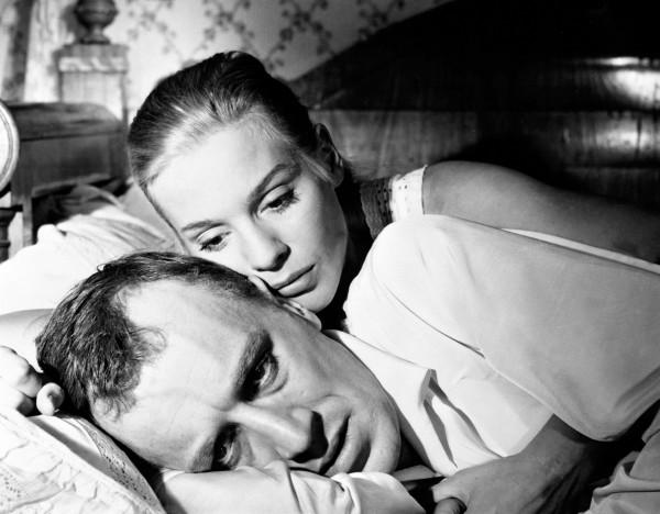 Max von Sydow (Vogler), Ingrid Thulin (Manda Vogler)