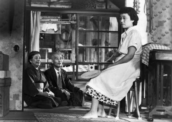Chiyeko Higashiyama, Chishû Ryû, Haruko Sugimura