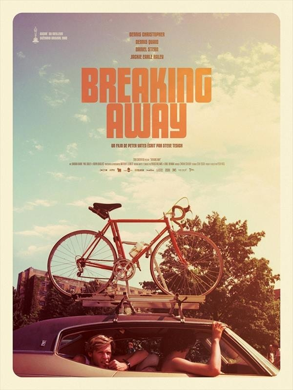 Breaking Away  : La Bande des quatre, affiche version restaurée