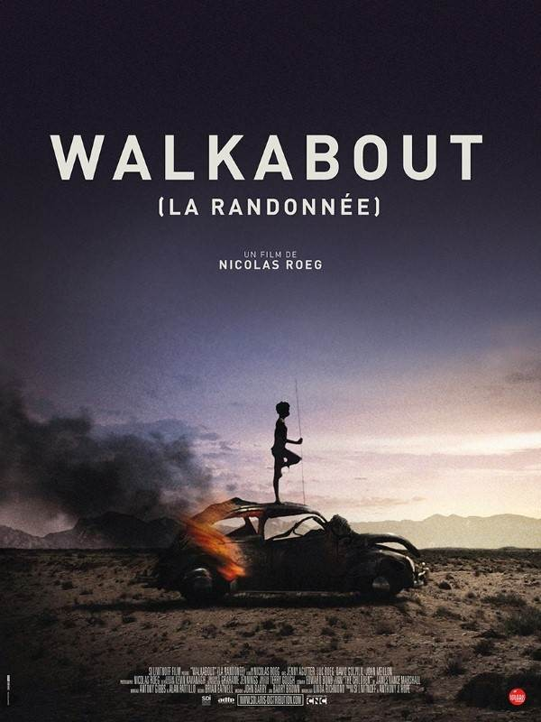 Walkabout, Affiche