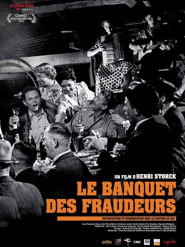 Le Banquet des fraudeurs, Affiche version restaurée