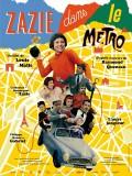 Zazie dans le métro, affiche