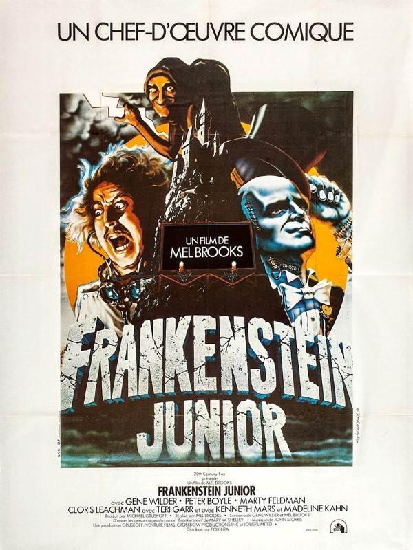 Frankenstein Junior, Affiche