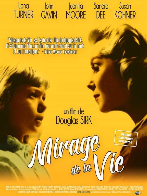 Mirage de la vie, Affiche version restaurée