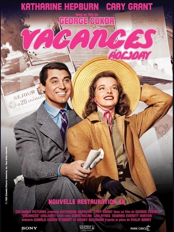 Vacances, affiche version restaurée