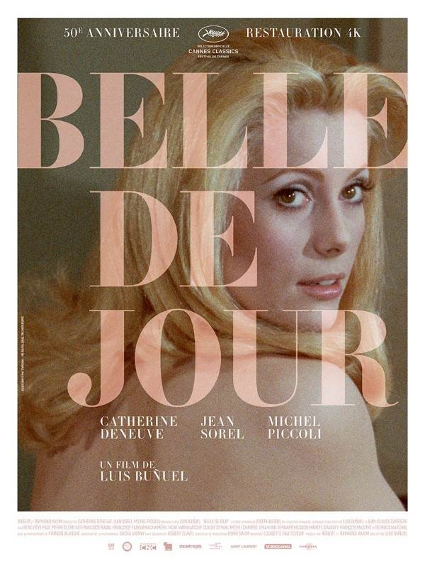 Belle de jour, Affiche version restaurée