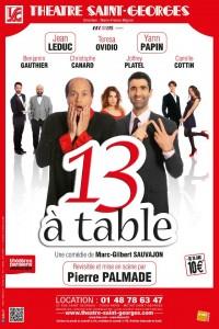 13 à table : Affiche