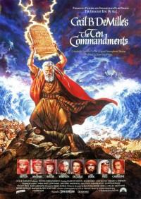 Les Dix commandements : Affiche