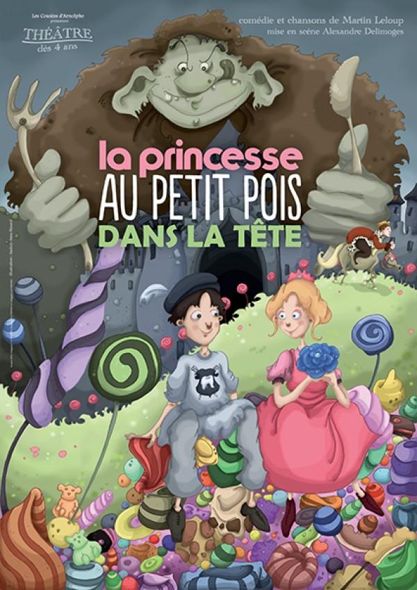 La Princesse au petit pois dans la tête : Affiche
