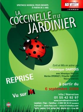 La coccinelle et le jardinier com die saint michel l for Jardinier tarif horaire