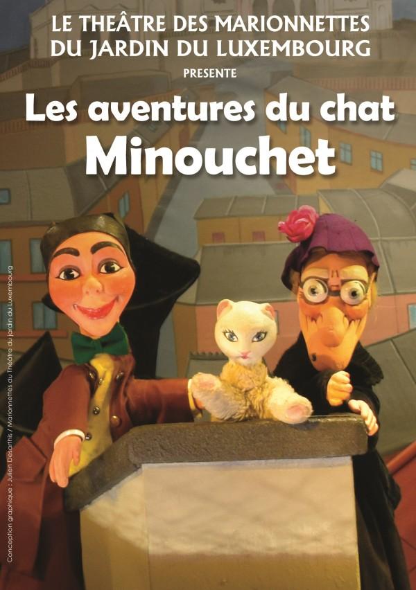 Les Aventures du chat Minouchet aux Marionnettes du Luxembourg
