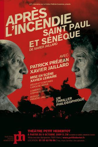 Après l'incendie, Saint Paul et Sénèque