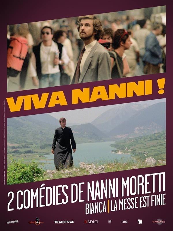 Viva Nanni !, 2 comédies de Nanni Moretti : Bianca / La messe est finie, affiche