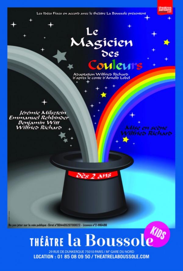 Le Magicien des couleurs au Théâtre La Boussole