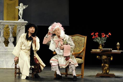 Le bourgeois gentilhomme th tre de la porte saint - Theatre de la porte saint martin metro ...