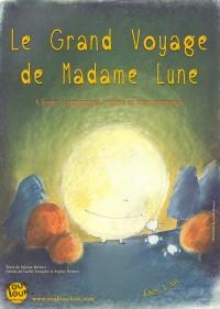 Le Grand voyage de Madame Lune - Affiche