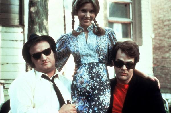 John Belushi, Carrie Fisher, Dan Aykroyd