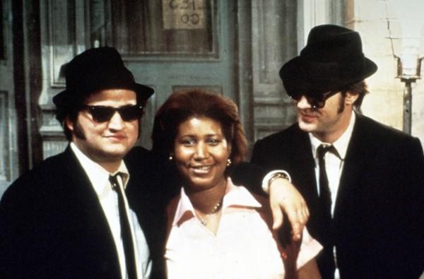 John Belushi, Aretha Franklin, Dan Aykroyd