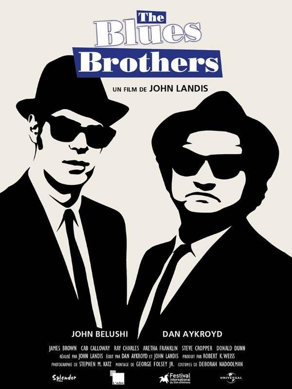 Les Blues Brothers, Affiche, version restaurée