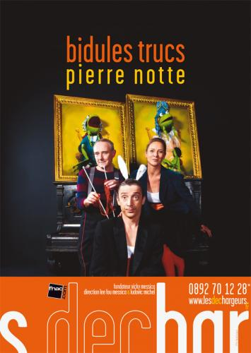 Bidules trucs th tre la bruy re l 39 officiel des spectacles - Theatre de la bruyere ...