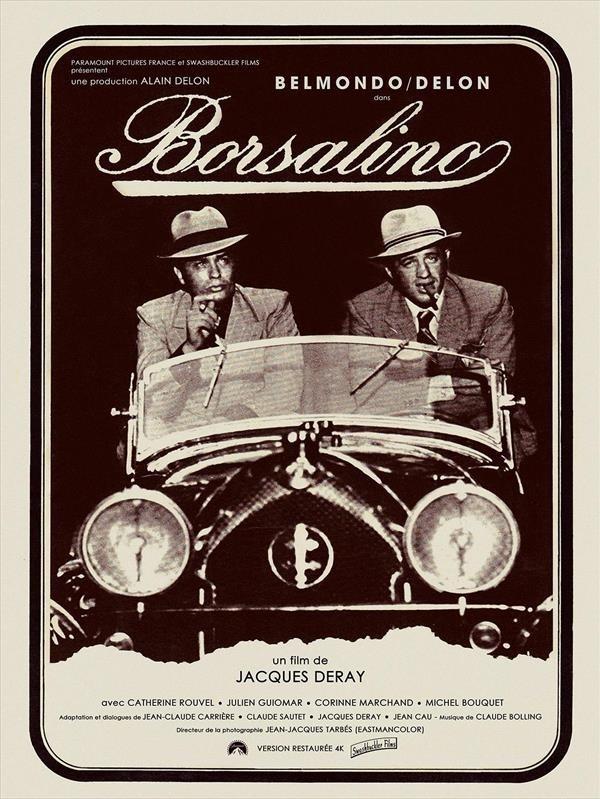 Borsalino, affiche version restaurée