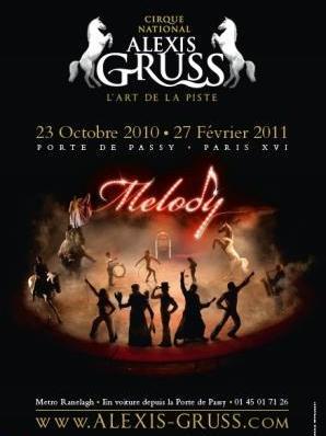 Melody chapiteau alexis gruss l 39 officiel des spectacles - Carrefour des cascades porte de passy ...