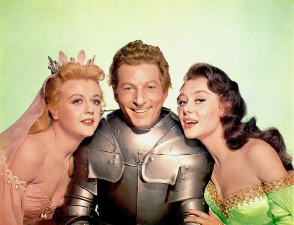 Angela Lansbury, Danny Kaye, Glynis Johns